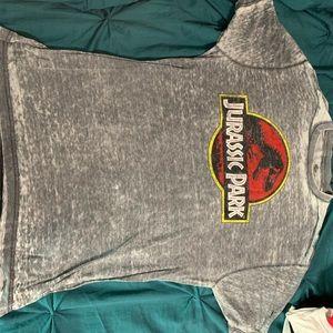 Universal Shirts - Jurassic Park Washed Tee Sz L